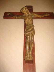 Kruisbeeld, 39 x 26 cm