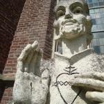 Kranenburg - Heilig Hartbeeld (8)