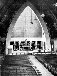 Nijmegen - Christus Koningkerk (interieur na 1951)