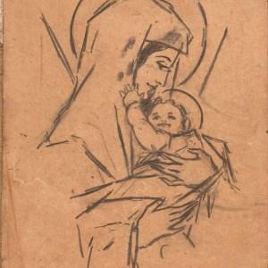 B-005 – 1931 Mater dei potlood 176×129  sd31201 Voor Leen van Willy en Jack Maris
