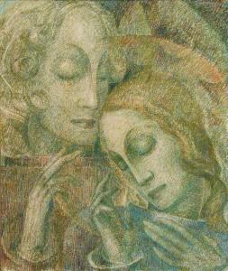Annunciatie 64 x 54 cm (1942)