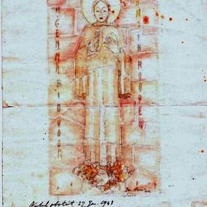 C-010 – 1942 H Gemma bid voor ons Duistervoorde aquarel 273×176