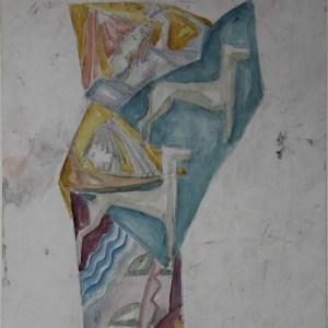 D-059 – 1959 ca Mens en dier