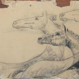 D-079 – Drie paarden