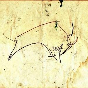 G-027b – 1994 Stier (verso) stift 227×329 sd 1994