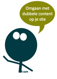 omgaan met dubbele content