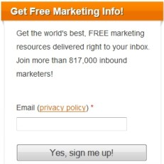 hubspot call-to-action