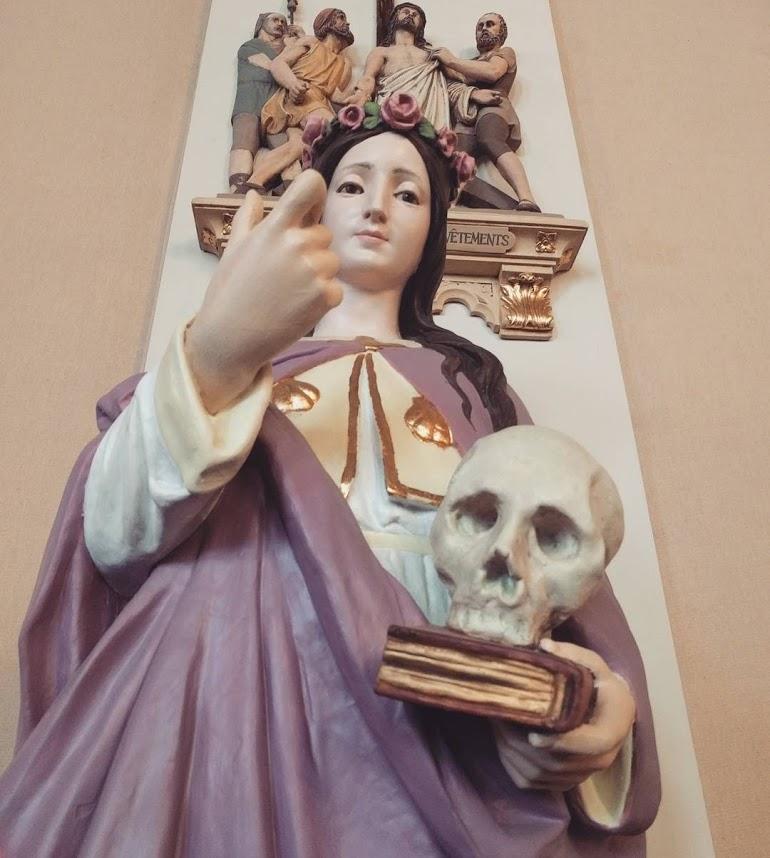 Ursuline Convent Skull