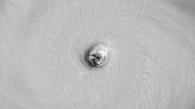 Super Typhoon Yutu Hits U.S. Pacific Territory