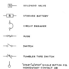 Electrical Wiring Diagram Symbols Vertical Integration Unit Course In Marine Electricity - Part 4