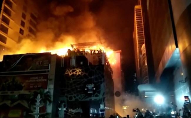 Fire Engulfs Mumbai Building Killing At Least 15 People
