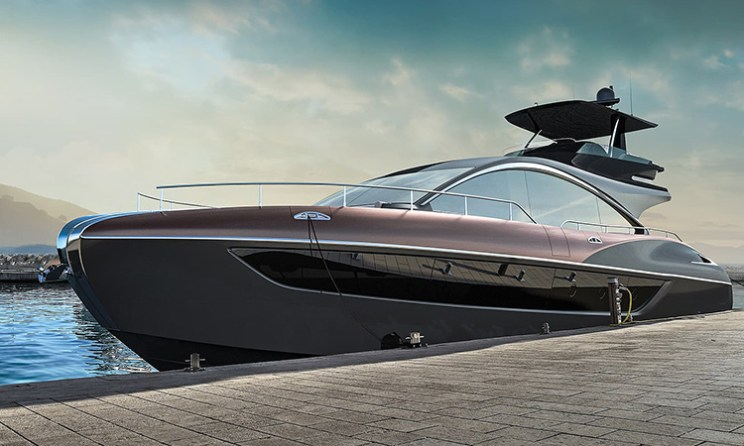 Lexus Reveals New LY 650 Luxury Yacht