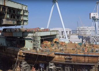 Watch Construction Of Future US Aircraft Carrier John F. Kennedy