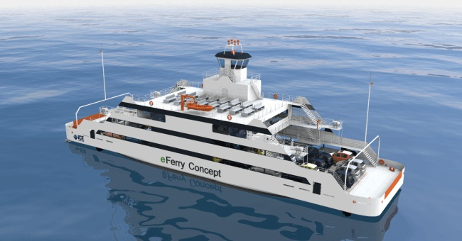 ICE Develops Design Of An All-Electric Ferry 1