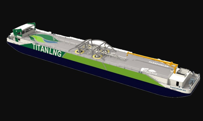 Fluxys And Titan LNG To Build LNG Bunkering Pontoon For Antwerp Port And Region 1