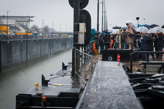 Princess Beatrix Lock Inaugurated in the Netherlands 1