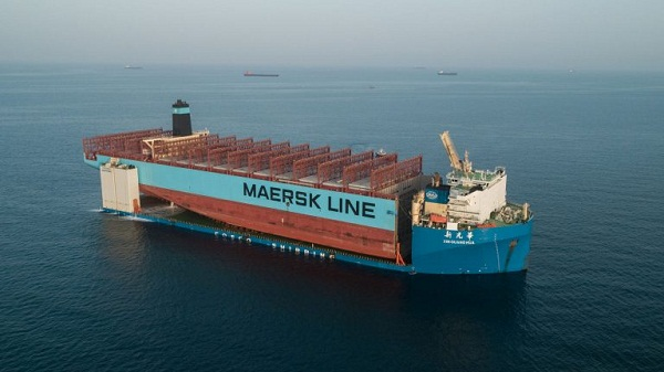 Maersk Honam Section on Its Way to South Korea 1