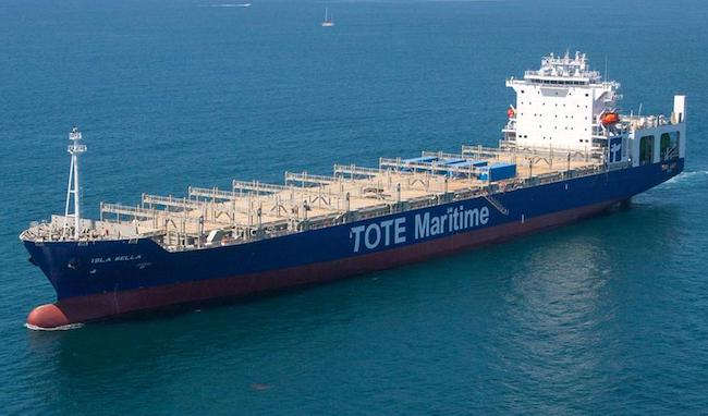 TOTE Services Is Awarded Contract To Construct National Security Multi-Mission Vessel 1