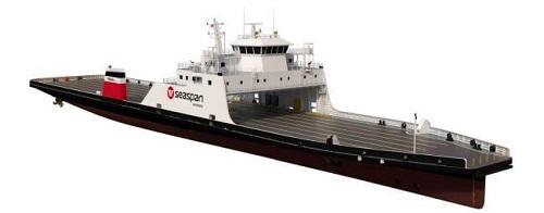 Damen Will Construct Two LNG-Hybrid RoRo Ferries For Seaspan 1