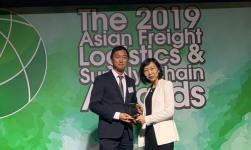 At AFLAS Awards MSC Titled As Best Shipping Line Asia–Africa Award