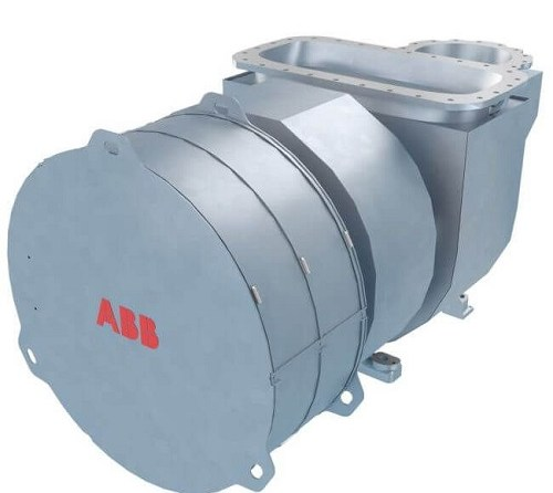 ABB Launches New Compact And Efficient Turbocharger For Low-Speed Marine Engine