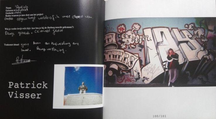 Uit het boek van de Straat. Foto en tekst Patrick.