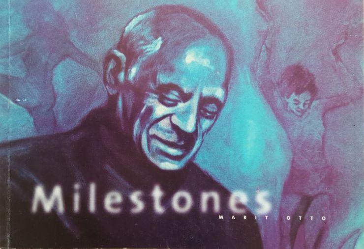Milestones, een boekwerkje wat is uitgegeven bij de gelijknamige expositie Milestones in restaurant Neeltje, Zwolle, 1999.