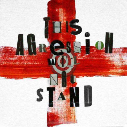 This Aggression (Will not stand)-2019-verbal-no-17-30/30 cm- marit-otto
