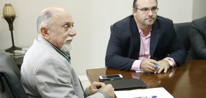 Prefeito de Marituba em audiência com governador do Pará