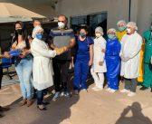 Profissionais da saúde de Marituba recebem EPIs para o enfrentamento do coronavírus