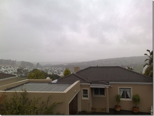 Rainy Cape Town