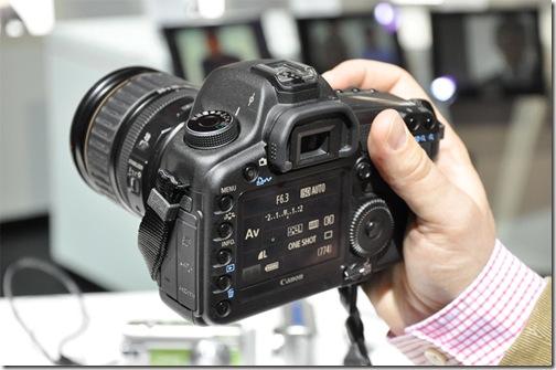 Canon 5d Mark II Back