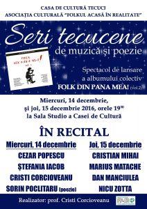 concert decembrie