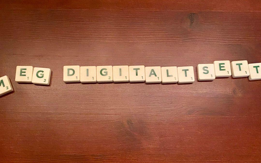 Min digitale hverdag – Kort og godt
