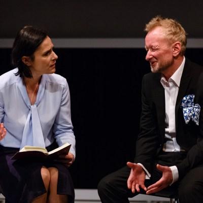 Dorota Landowska i Andrzej Mastalerz