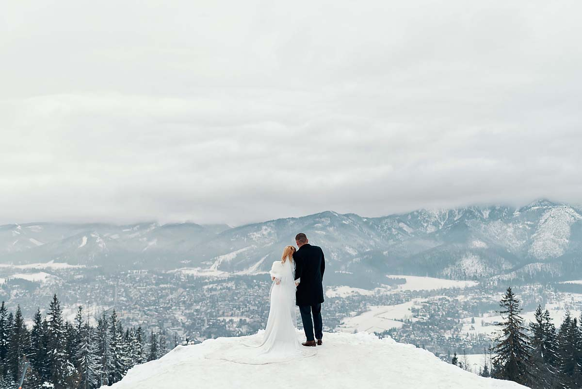 pre wedding session in Zakopane, Gubalowka mountaint