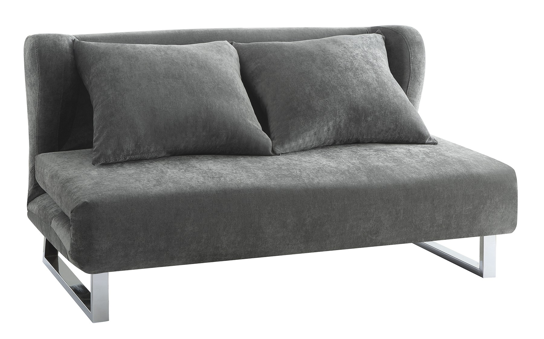 grey sofa chaise lounge most comfortable sleepers contemporary bed converts from to