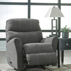 Foam Sofa Sleeper Recliners For Sale Maier Charcoal Sectional | Marjen Of Chicago ...
