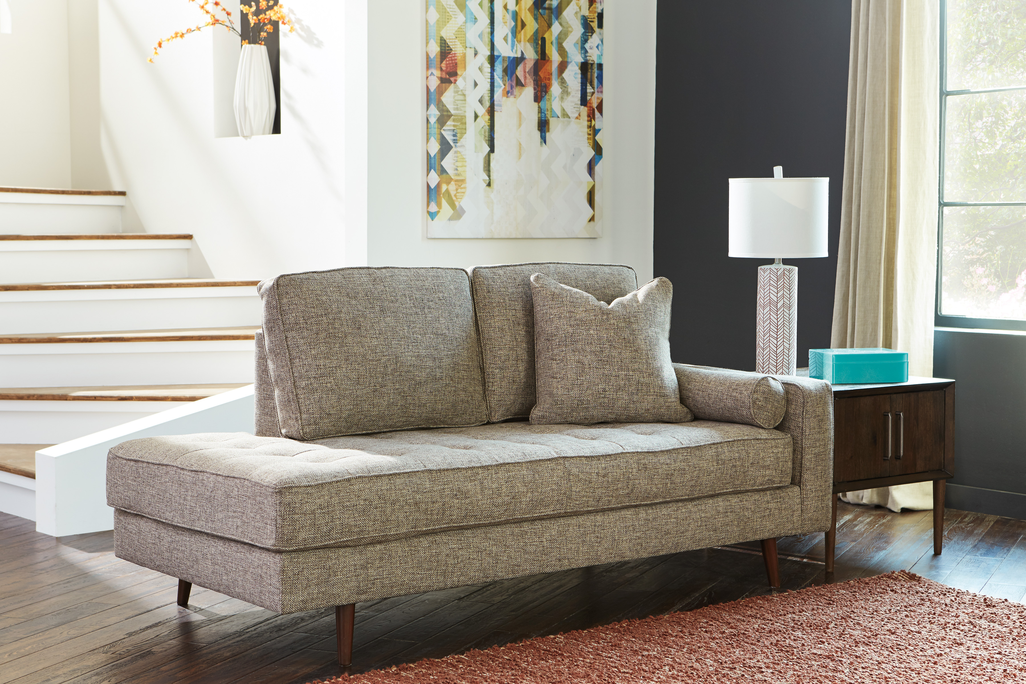 CHENTO JUTE SOFA  Marjen of Chicago  Chicago Discount