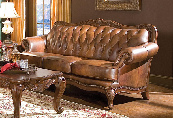 Victoria Sofa Leather Sofa  Marjen of Chicago  Chicago