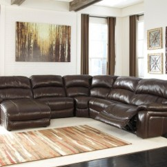 Sleeper Sofas Chicago Il Grey Leather Sofa Damacio Dark Brown Laf Power Reclining Sectional ...
