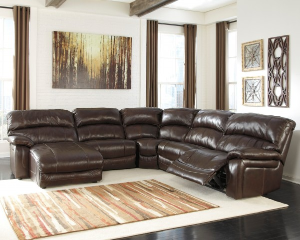 right arm sleeper sofa pittsburgh damacio dark brown leather laf power reclining sectional ...