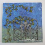 Mixed Media Canvas with Gina's Designs