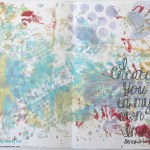 Gel Press Art Journal
