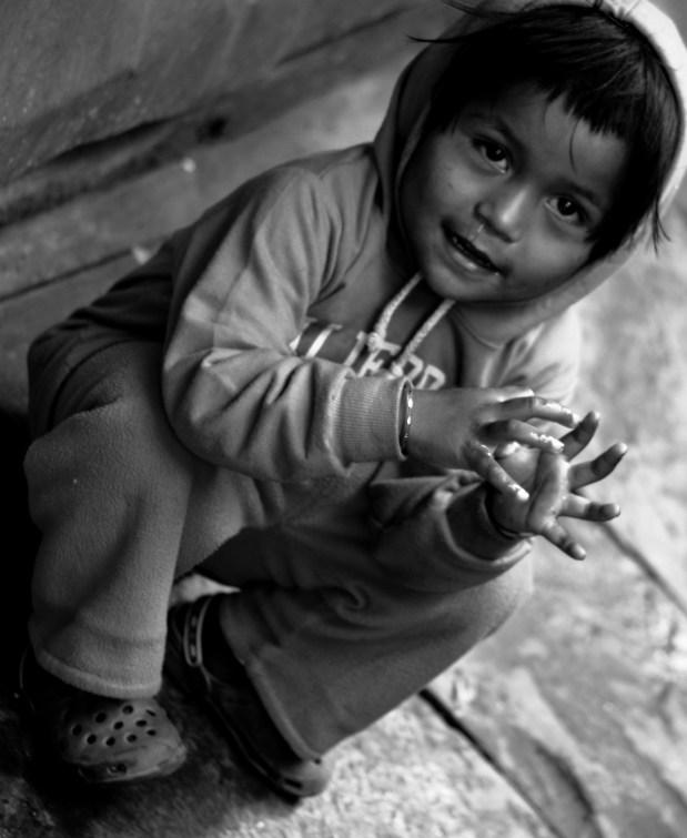 Jongetje in Nepal
