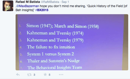 bazerman slide on history of behavioral economics