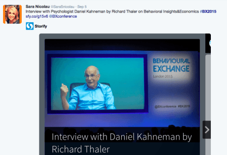 daniel kahneman and richard thaler interview at BX2015