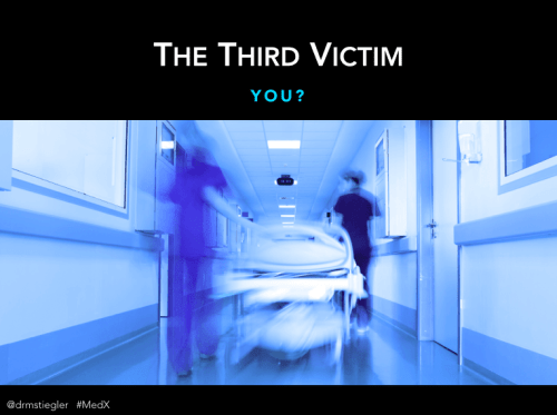 "Is there a ""third victim""? Are subsequent patients at risk when they are cared for physicians who are emotionally affected by a prior bad outcome, or a close call - maybe even their own mistake?"