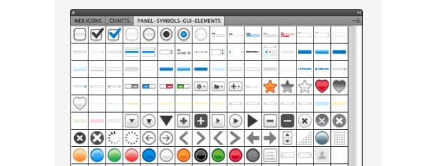 illustrator symbol panel