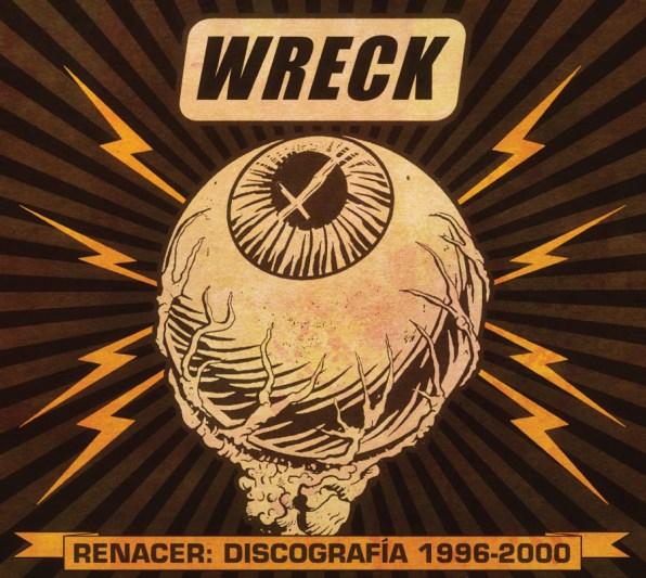 Wreck Renacer - Digipack portada